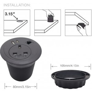 Power Grommets with media slot