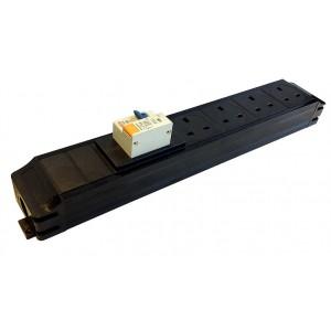 Under Desk Power Modules - In Line RCBO
