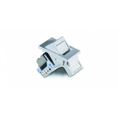 Alphasnap Cat5e Angled 6C Module - Pack of 10