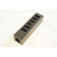 POD Box (GOP) 6 Way Vertical 25mm Entry Gland