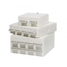 Multimode Wall Mounted Fibre Patch Boxes
