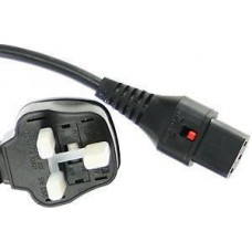 Locking IEC C13 Mains Leads