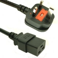 UK Mains to IEC C19 Power Cable